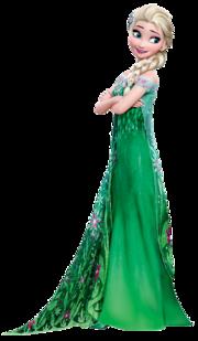 Elsa Frozen Fever Render