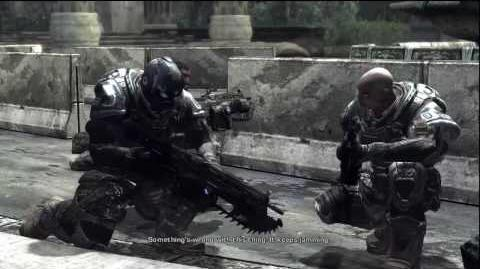Gears of War Anthony Carmine Death Scene *HD*