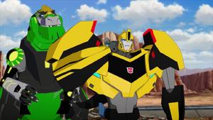 Bumblebee and Grimlock (Guys)