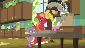 Discord you two certainly have bought into S8E10