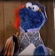 Cookie Monster as the Post Monster