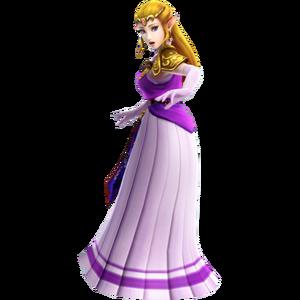 Hyrule Warriors Princess Zelda Era of the Hero of Time Robes (DLC Costume)