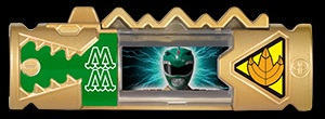 MMPR Green Charger