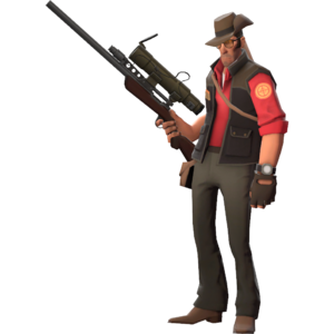 Red Sniper Fullbody