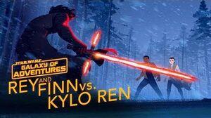 Rey and Finn vs
