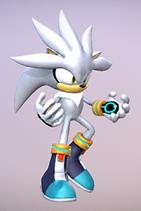 Silver the Hedgehog Model