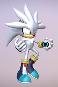 Silver the Hedgehog Model