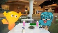 Gumball and Penny
