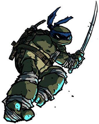 Leonardo Tmnt Comics Heroes Wiki Fandom