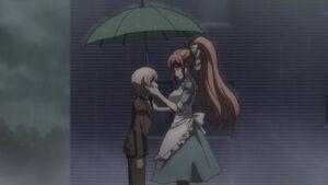 Yukizome calmed Mitarai