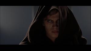 Darth Vader scowl