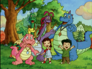 Dragon Tales gang