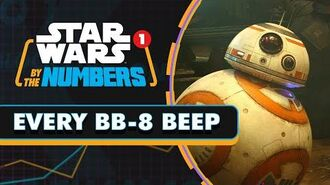 Every BB-8 Beep in the Sequel Trilogy Star Wars By the Numbers
