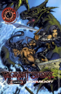 Vagrant Story - Ashley Riot and Callo Merlose as they appear in the official comic book
