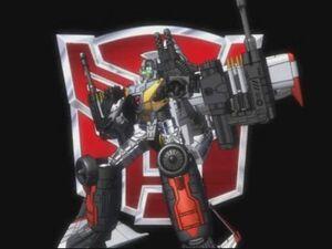Wing Saber's Robot Mode (Cybertron)