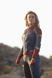Captain Marvel Standing