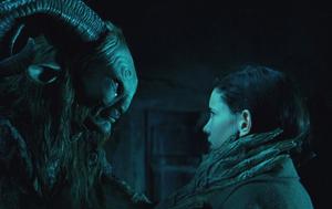 Ofelia talking to the faun