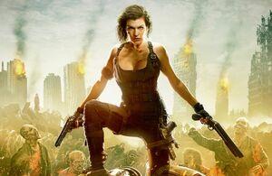 Alice in Resident Evil 6