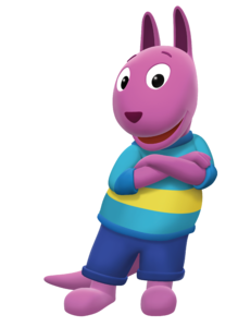 The Backyardigans Austin Cross-Armed Nickelodeon Nick Jr. Character Image