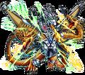 ZGodzilla X Monster Strike - Mecha-King Ghidorah