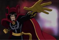 Dr. Strange. (The Ultimate Spider-man)