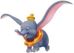 Dumbo in Kingdom Hearts