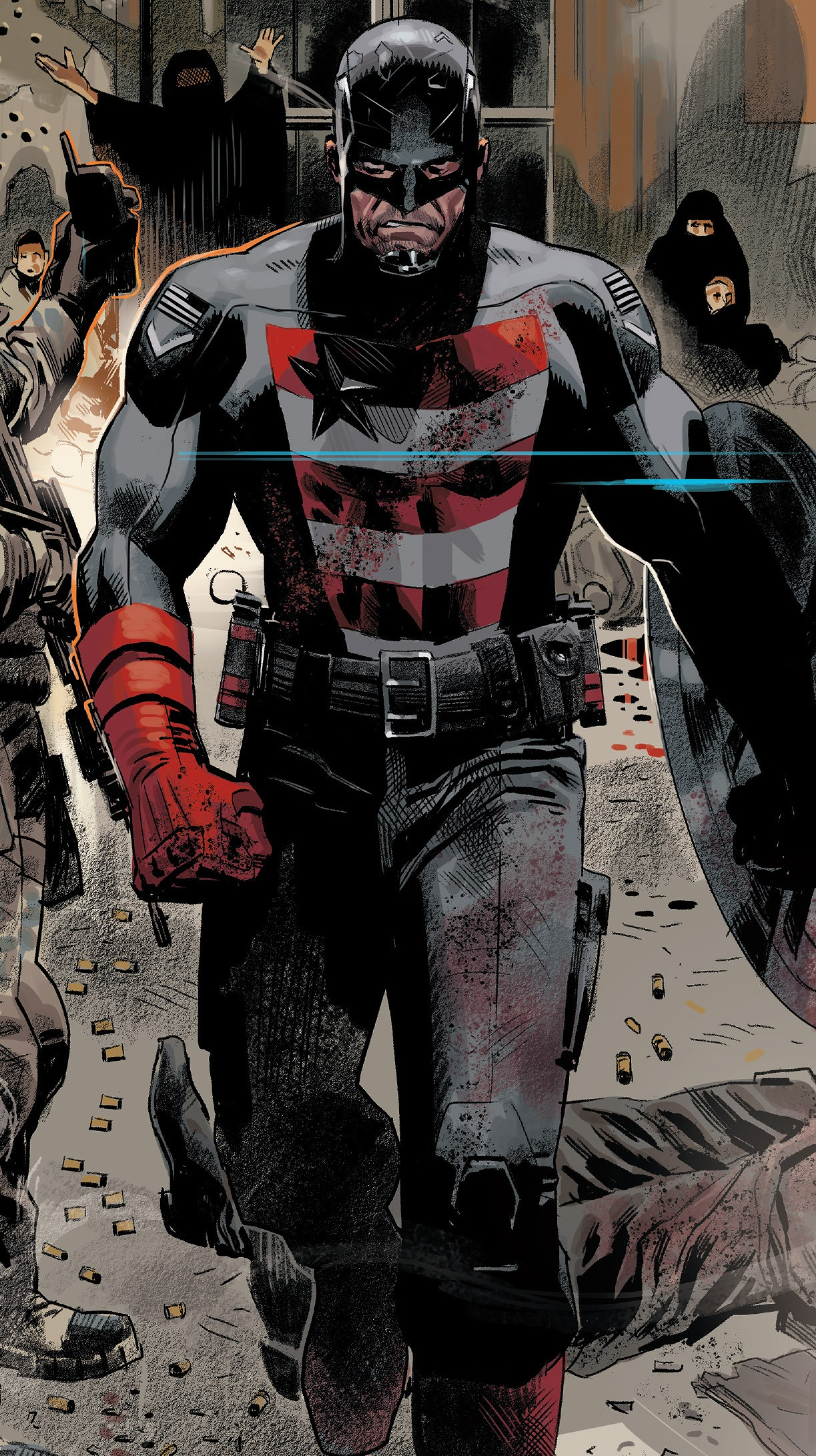 U.S. Agent | Heroes Wiki | Fandom