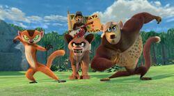 Lemur Heroes Ready for Battle