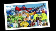 Photo of Optimus Prime, Rescue Bots, Burns Family and Creene Family