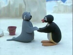 Pingu and Robby Are Sad