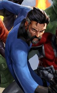 Reed Richards (Earth-616) from Avengers Vol 5 43 cover