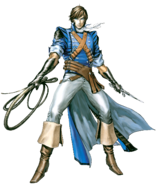 Castlevania - Richter Belmont as seen in The Dracula X Chronicles