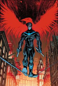 Nightwing Vol 4 24 Textless Variant