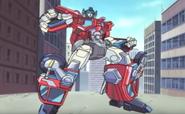 Optimus Prime's standard mode