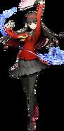 Yukiko Amagi (BlazBlue Cross Tag Battle, Character Select Artwork)