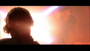 Darth Vader shining
