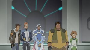 VLD - Lance, Coran, Allura, Hunk and Pidge