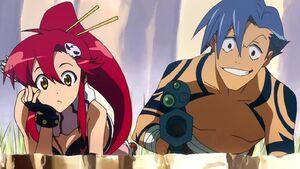 Yoko and Kamina