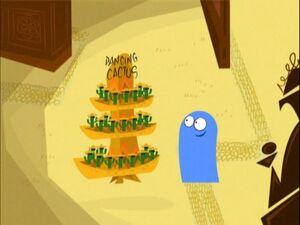 Bloo dancing cactus