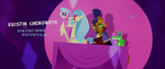 Princess Skystar giving a score of 10 MLPTM