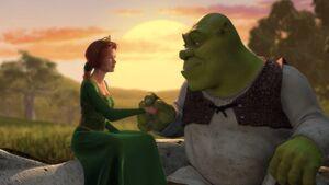 Shrek and Fiona 2
