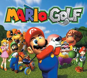 The main cast of Mario Golf 64