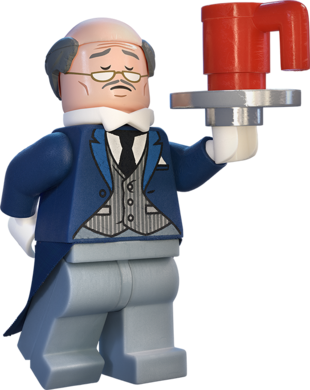 Alfred lego batman movie