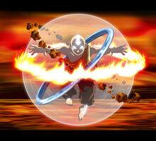 Avatar Aang by Shira chan