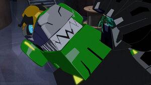 Grimlock vs. Minitron