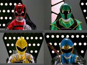 Normal TvT Power Rangers Operation Overdrive 20 Once A Ranger double length TDIS-usotsuki 97100