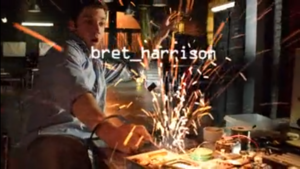 Cameron Price (Bret Harrison) - season 2 opening credit for Breaking In