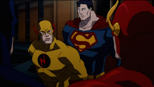 Justice League Flashpoint Paradox 8 - Superman