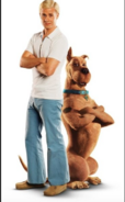 Live Action Fred with Scooby