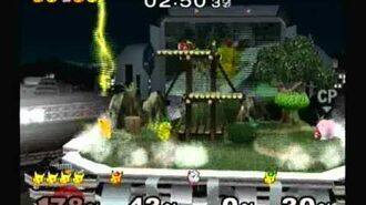 Super Smash Bros. Melee- Adventure Mode with Pikachu (Hard)